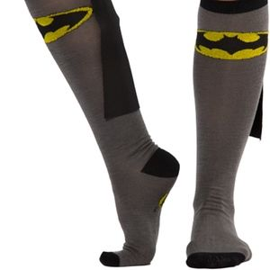 High Batman Socks with Cape